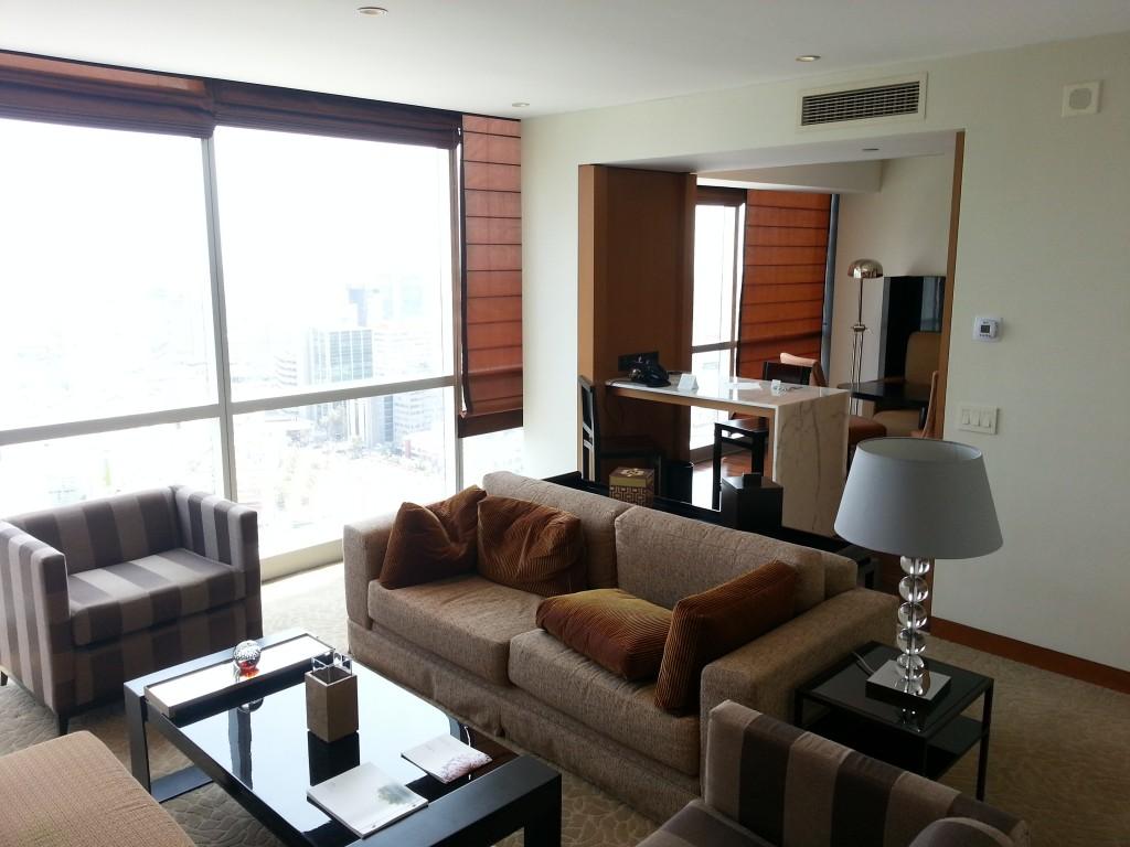 Por el precio de la habitación más barata (~120$), fui ascendido a esta increíble suite