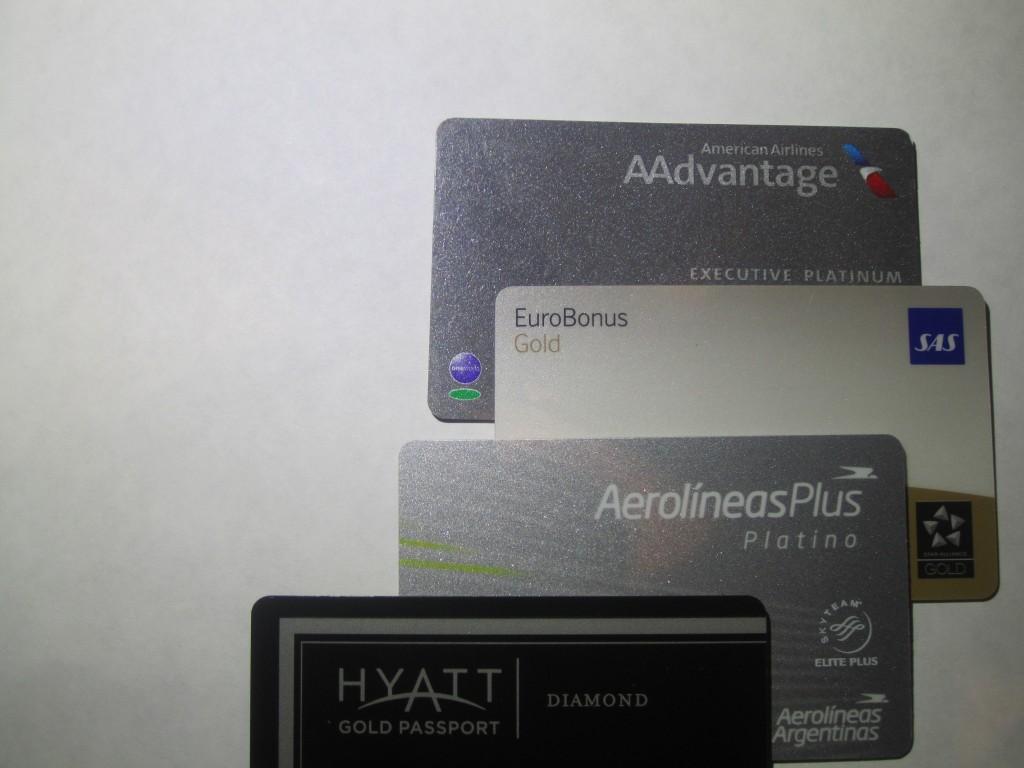 Tarjetas programas lealtad aerolineas