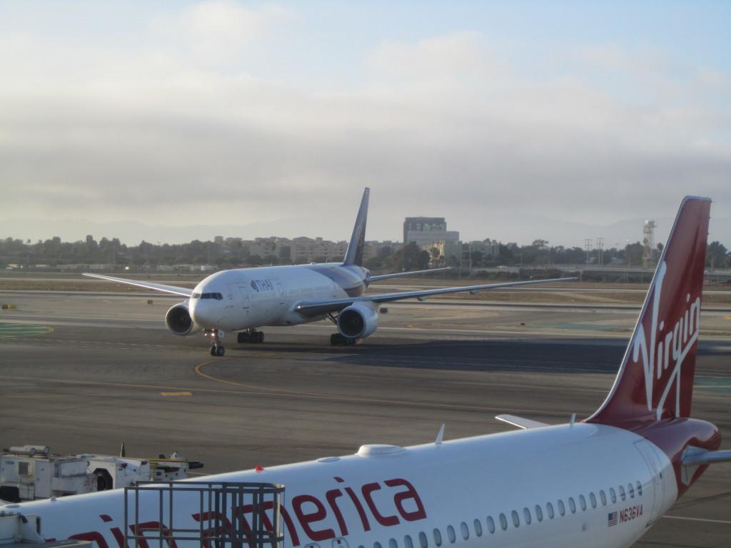 LAX The Loft Virgin America