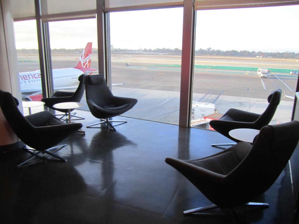Virgin American The Loft LAX